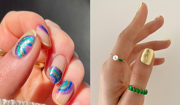 5 glamorous manicure ideas to try for New Year's Eve