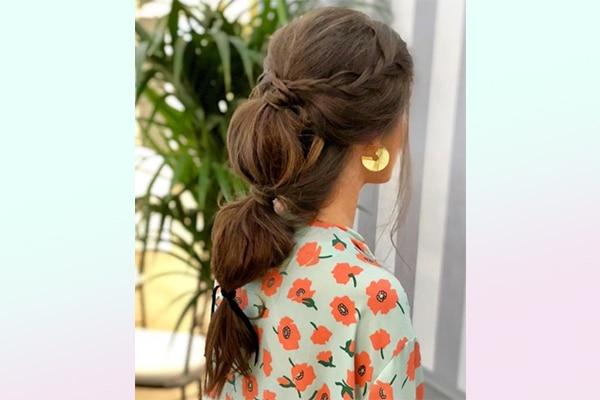 Bubble ponytail