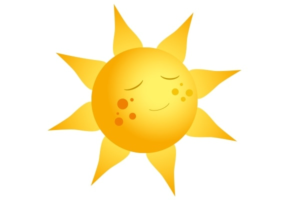 You guessed it. Sun exposure causes dark spots in a jiffy!