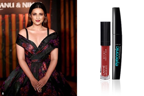 Oxblood lips with a deep hued outfit: courtesy Parineeti Chopra