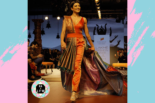 Sushmita Sen was spotted at the RmKV