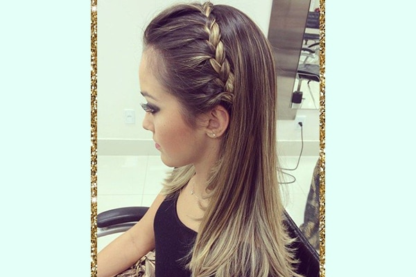 Party ready hairstyles for girls with long, silky hair