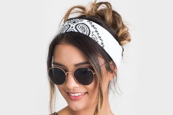 Back-tied headband