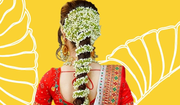10 easy gajra hairstyles you can try this wedding season