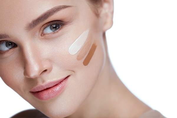 Pick the right foundation shade