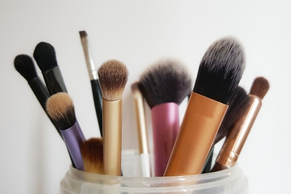 Clean your makeup tools after every use