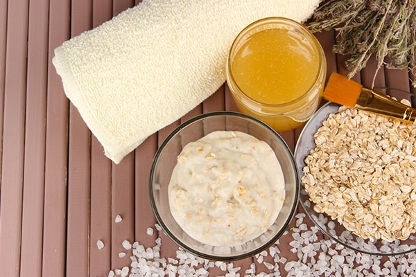 Honey and Oatmeal Mask