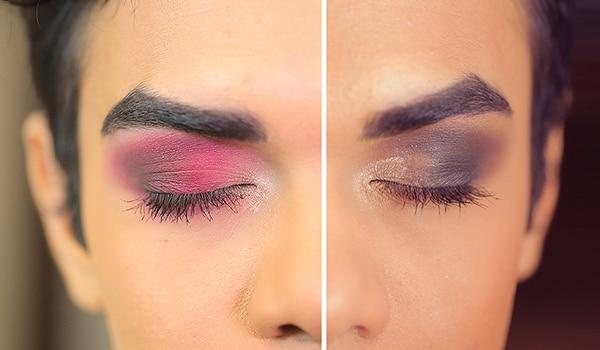 2 different ways to wear a smokey eye this festive season