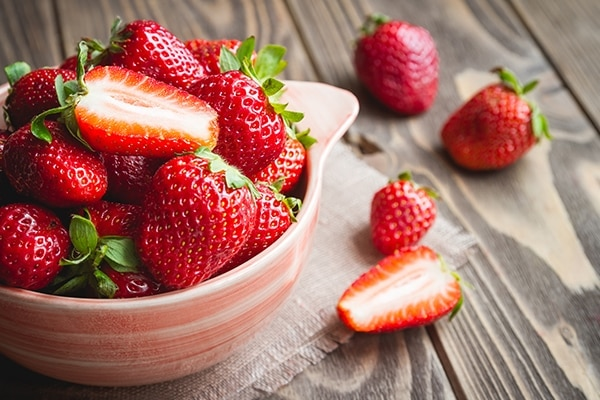 Have you tried strawberries yet?