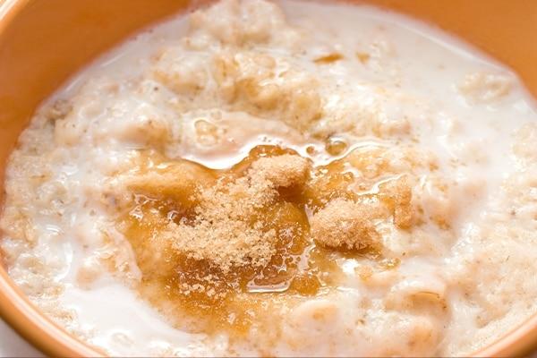 Oatmeal + brown sugar