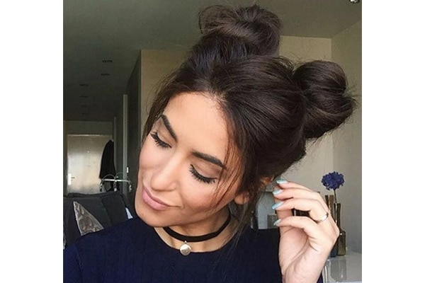 Chic Double buns