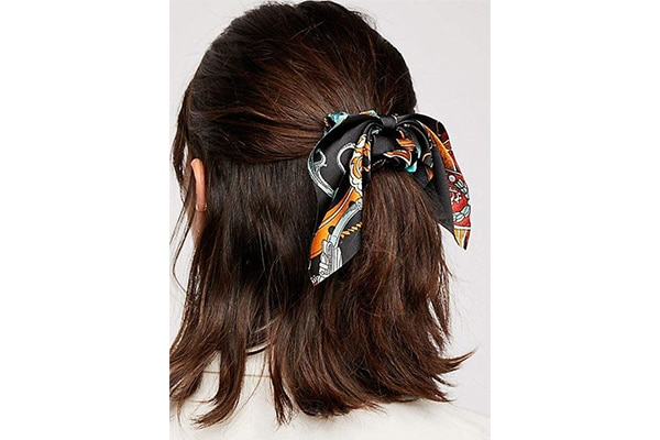 3 Scarf Hairstyles That Can Be Pulled Off On Short Hair