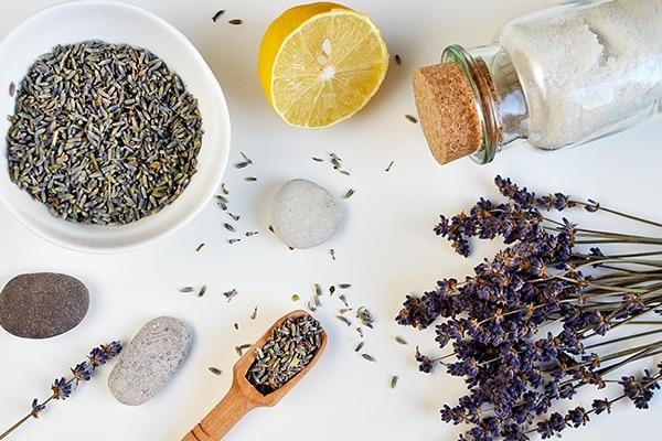 Lemon and Lavender Lemon Sugar Scrub