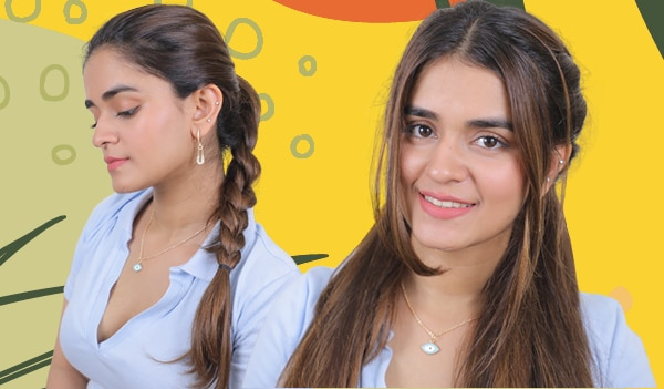 3 easy hairstyles for frizzy hair in monsoon