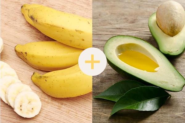3 home remedies itchy scalp banana avocado 600x400
