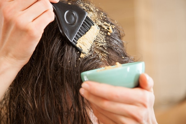 Treat your hair with a hydrating mask