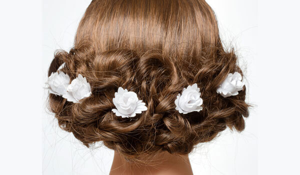 3 stunning wedding hairstyles to try at home without heat