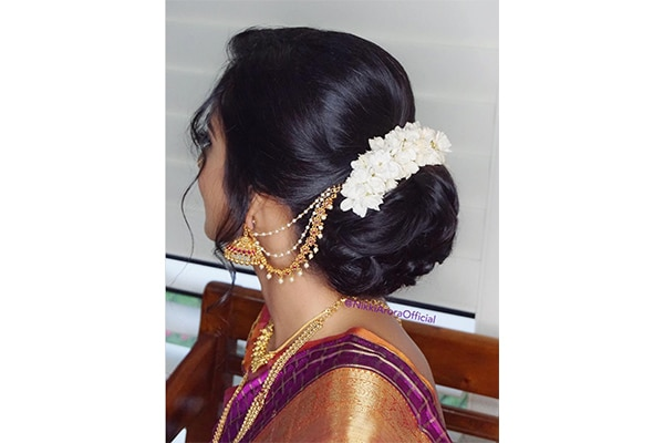 5 Gajra Hairstyles To Pair With A Festive Lehenga Be Beautiful India
