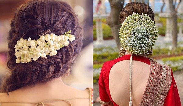 5 ways to rock a gajra hairstyle with your festive lehenga
