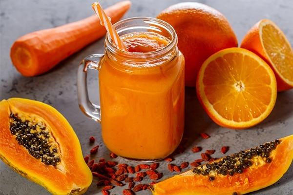 Carrot and Papaya