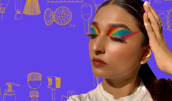 5 eye makeup looks to wear for Pride month 2021