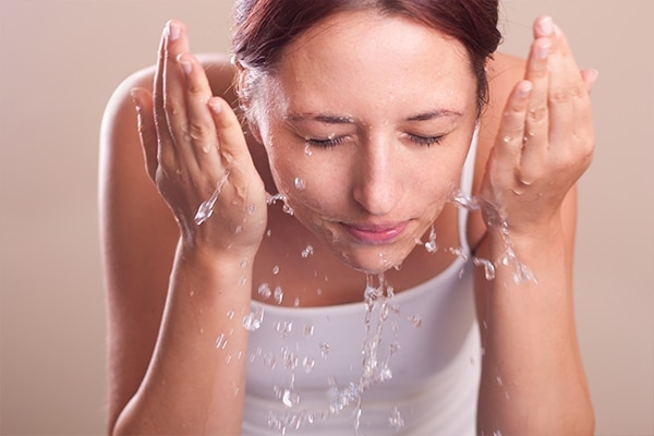 Mistake #3: Over-washing your face