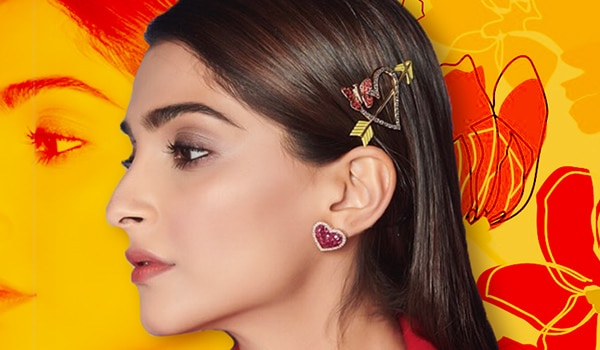 5 easy and cute ways to accessorise your hair on Valentine's Day 2021