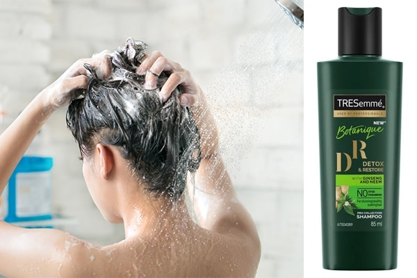 You're not shampooing enough or too often