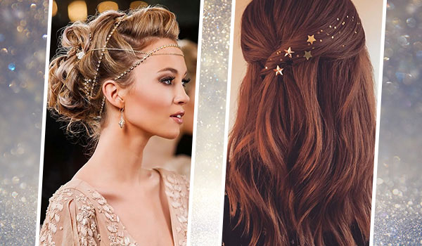 5 hairstyles and matching hair accessories to wear this festive season