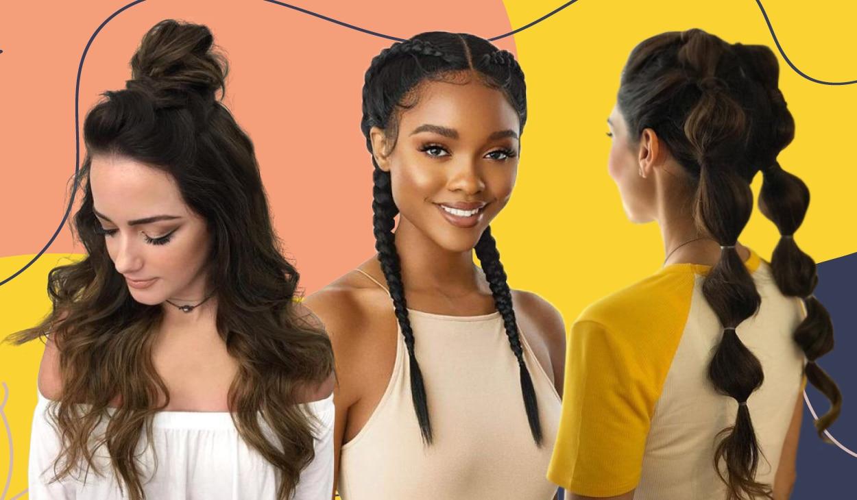 5 Hairstyles to help hide greasy locks