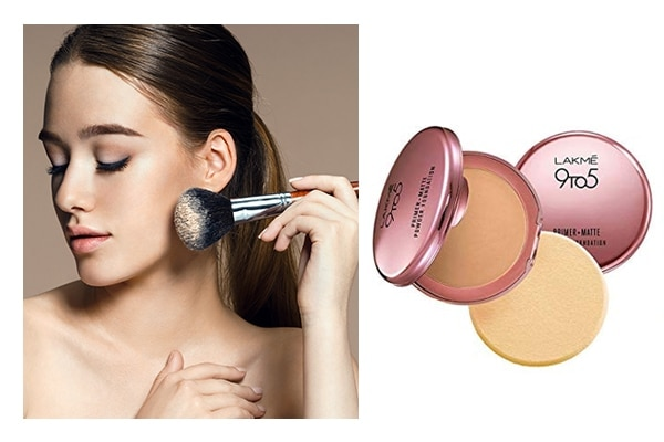 Avoid the hassle of blending, turn to a powder foundation
