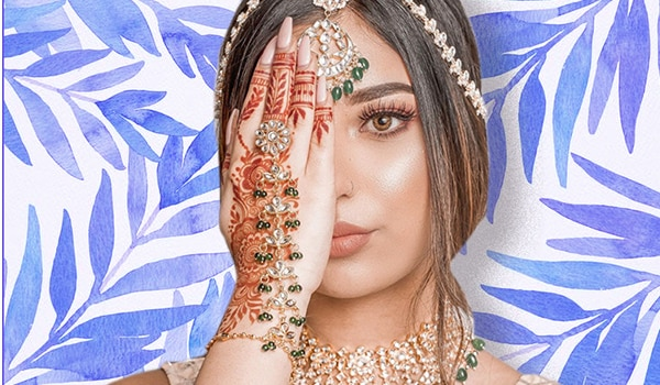 5 minimal bridal manicure ideas that won't distract from your mehndi design