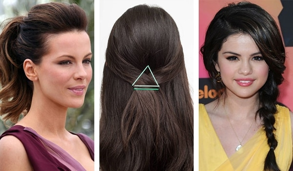 Under-5 minutes hairstyles for work