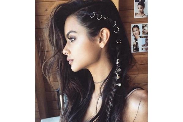 Pierced braids