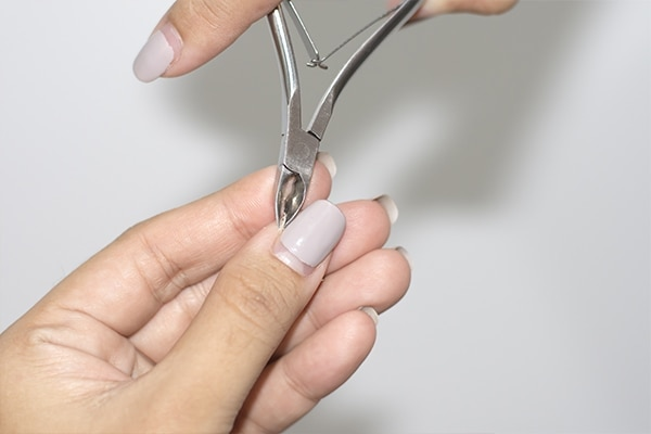 Cutting your cuticles is a strict no-no