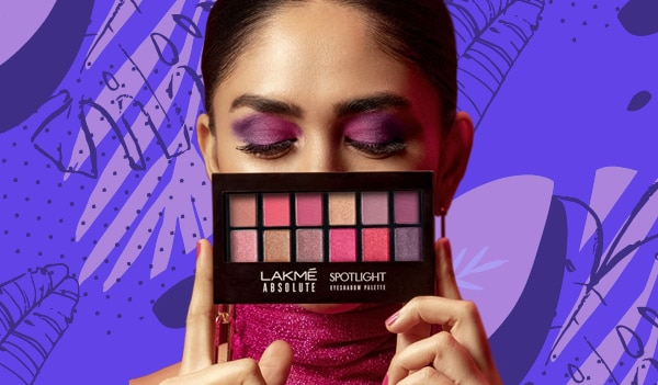 5 summery eye makeup looks you can create using the Lakmé Absolute Spotlight Eyeshadow Palette – Berry Martini