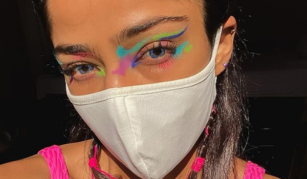 5 summery eye makeup looks that go well with a face mask