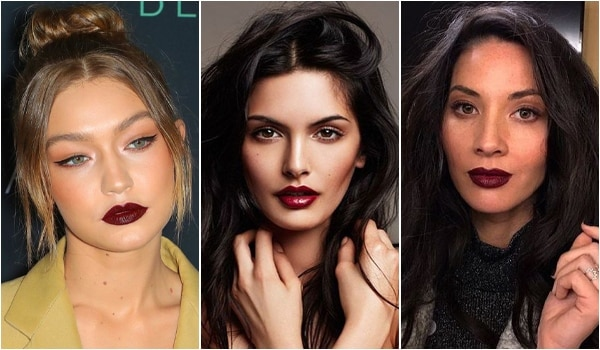 5 super chic ways to pull off dark lipsticks with aplomb