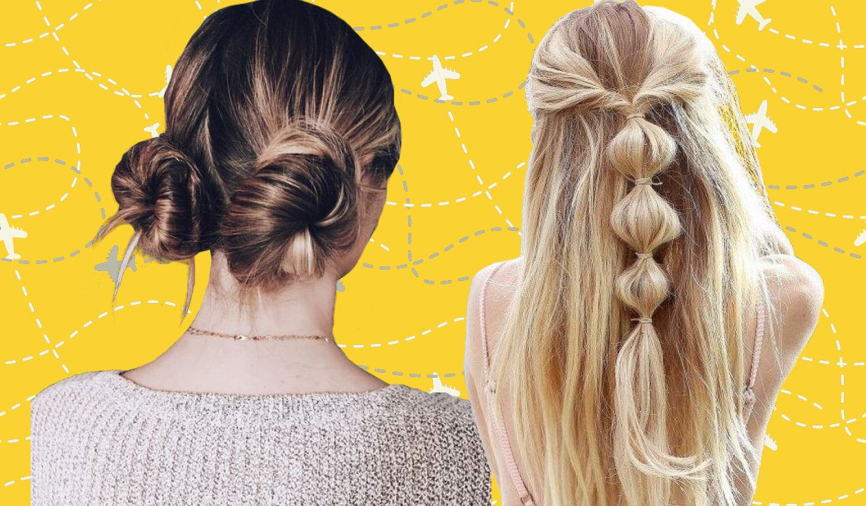 5 super cute travel-friendly hairstyles you can create in a jiffy