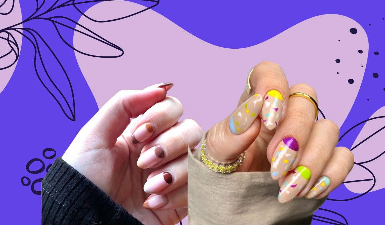 5 trendy and simple nail designs anybody can master at home
