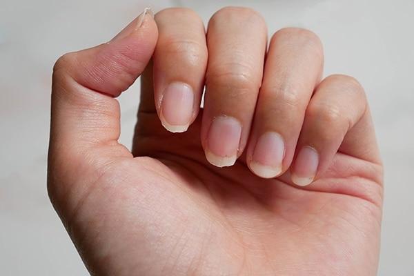 Heal rough cuticles with a lip balm