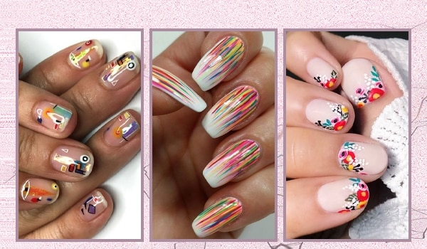 6 colourful nail art ideas to get you in the Holi mood, right NOW