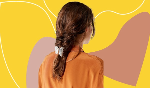 6 easy and fun claw clip hairstyles for every hair length