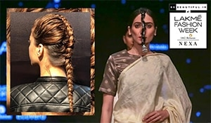 6 hairstyle trends from Lakmé Fashion Week Winter Festive 2019 that are anything but basic