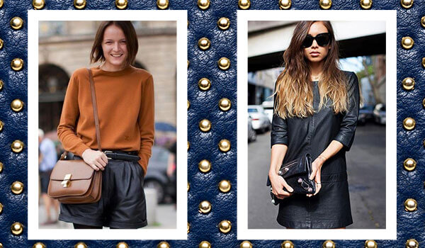 6 leather pieces to own that are not a leather jacket