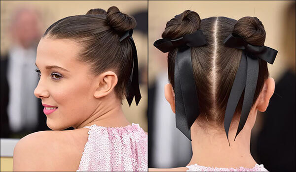 7 photos that prove that Millie Bobby Brown's hair game is on point