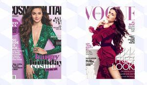 8 OF ALIA BHATT'S MOST STYLISH MAGAZINE COVERS