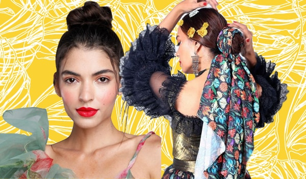 Lakmé Fashion Week 2021: Accessorised buns and messy top knots stole the show on Day 3