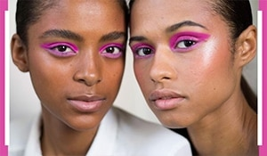 Ace the electric eye makeup trend with these simple steps