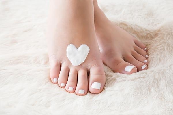Step 04: Massage your feet